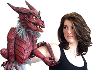 Morris Costumes Dragon Puppet, Red