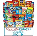 Ultimate Snack Assortment Care Package - Chips, Crackers, Cookies, Nuts, Bars - School, Work,...