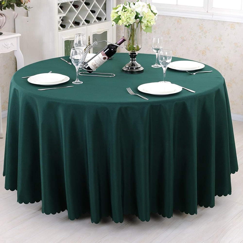 ventas en linea Mantel rojoondo de Hotel, poliéster para Restaurante, Tela (Color     verde Oscuro, Tamao   320cm)  ¡No dudes! ¡Compra ahora!