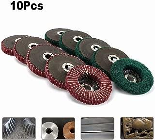 50/unidades Di/ámetro de 225/mm, grano P40, P60, P80, P120, P220/| 10/agujeros en rojo | lija construcci/ón en seco lijadora de lija jirafa Set woltersberger lija