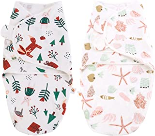 luminiu Baby sovsäck skötfilt set 2-pack skötfilt baby puckhandduk baby för nyfödda från 100 bomull-babysovsäck mjuk bomul...