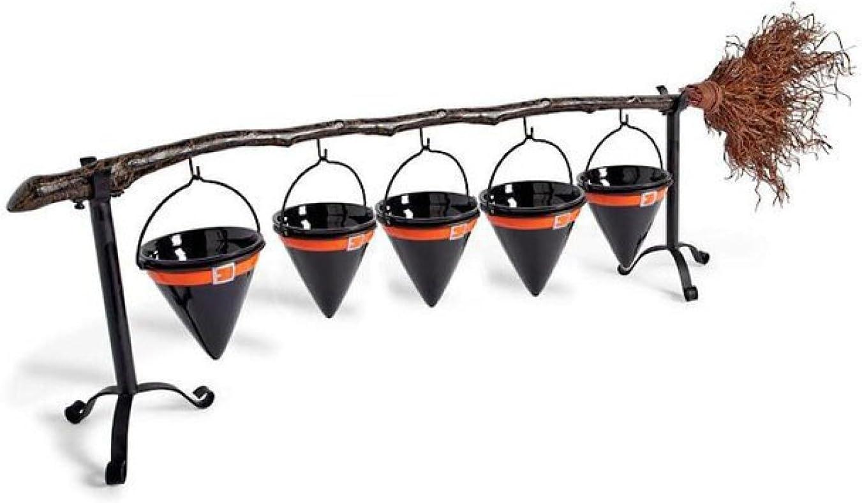 Some reservation FSXDF Halloween Pumpkin Fruit OFFer Basket Snack Rack Stand Bowl Broom