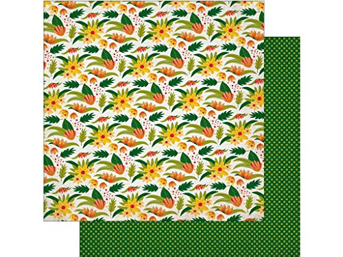 Echo Park Paper Company JF Paper Wilderness Flrl Echo Park Dschungelsafari 30,5 x 30,5 cm