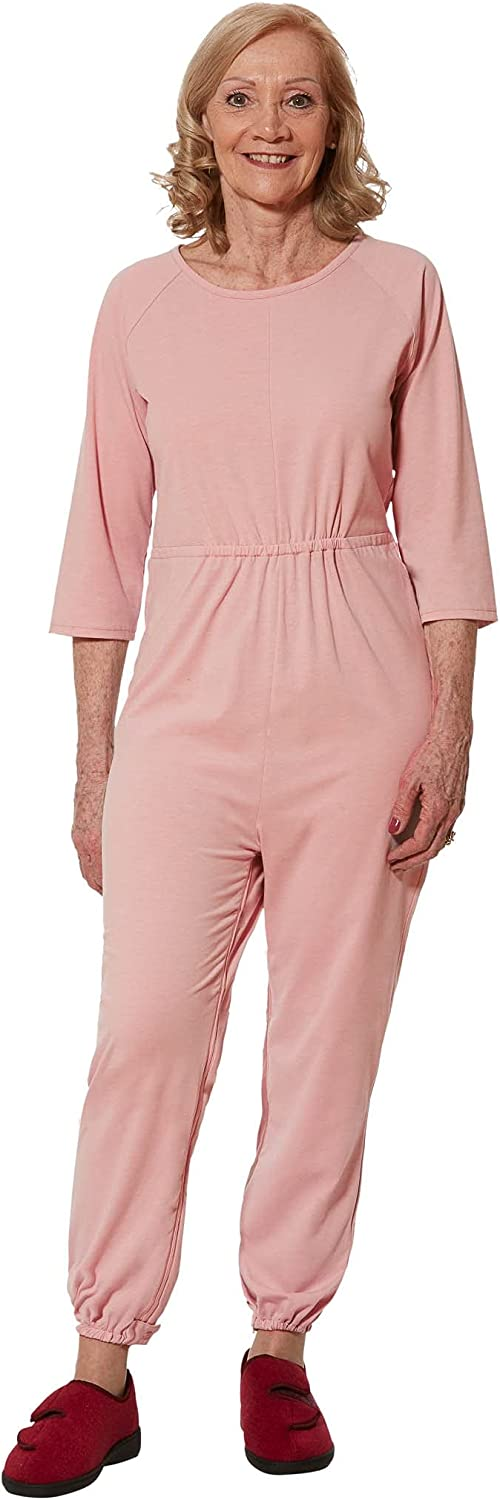 Max 63% OFF Alzheimers discount Jumpsuit Onesie with Zipper - Clothing Adaptive Senio