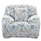 Prosperveil - Fundas de sofá elásticas de Tela de poliéster para sofá y Muebles, Magnolia Flower, 1 Seater