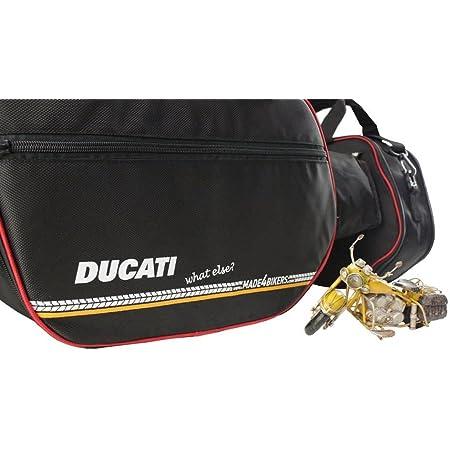 Made4bikers Promotion Bag Bedruckte Koffer Innentaschen Passend Für Ducati Multistrada 1200 Ab 2015 1260 Ab 2017 950 Ab 2017 Auto