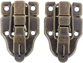 2-delige, Antieke Metalen Gesp For Jewelry Box, Koffer Switch Lock Hasp Klink Van 5,9 X 4 Cm / 2,32 X 1.57in, Hardware Acc...