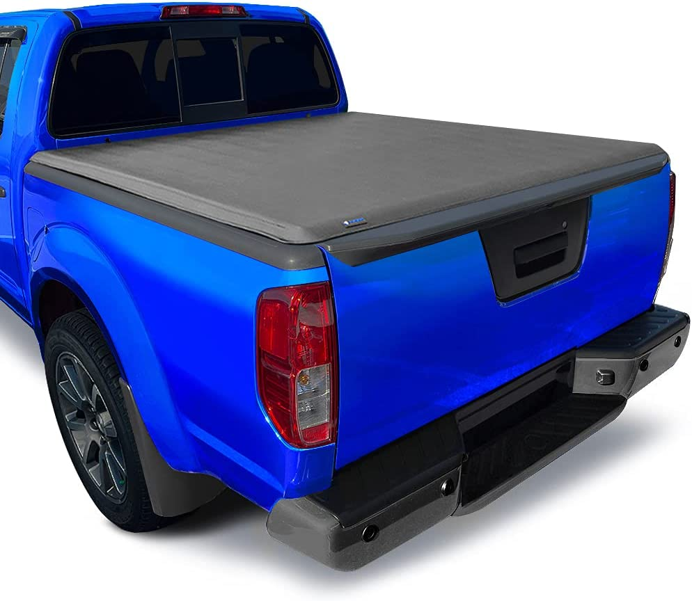 Tyger Auto T3 Soft Tri-Fold Truck Bed Tonneau Cover for Nissan Frontier