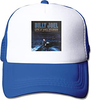 Jason A Ramirez Billy Joel Live at Shea Stadium Unisex Breathable Sun Hat,Fashion Baseball Cap,dad Hat,Adjustable,Truck Hat