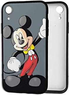 iPhone XR Case- Stylish Gentleman Mickey Mouse TPU Shockproof Flexible Back Protective Case for iPhone XR