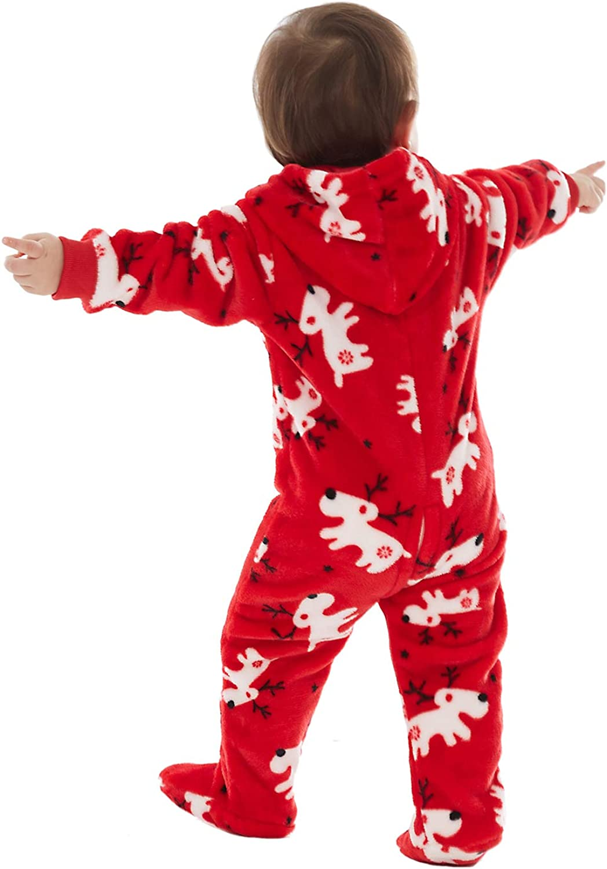 Jumpsuit Halloween Kost/üm Anzug Herren Damen Junge M/ädchen Pet Haustier Schlafanzug Lang Pajama Onepiece Tier Anzug Einteiler Fleece Overall Winter Weihnachten Familie Set 4 Farben