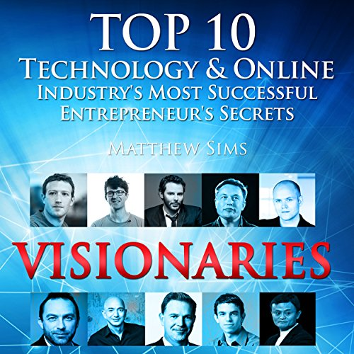 Visionaries audiobook cover art