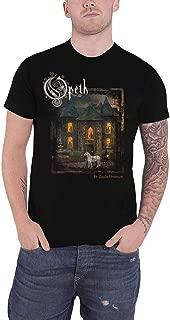 Opeth T Shirt In Cauda Venenum Album cover Band Logo Official Mens Black
