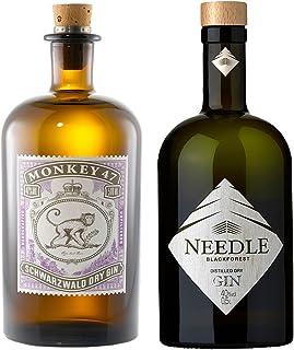 Monkey 47 Gin 0,5l  Needle Gin 0,5l - Zwei Gin´s aus dem Schwarzwald
