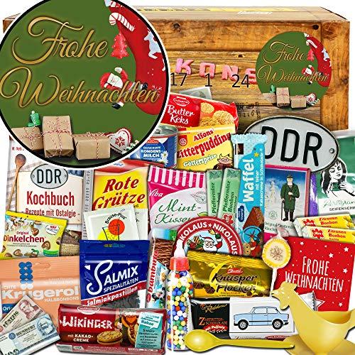 Frohe Weihnachten | Adventskalender Ostalgie | Weihnachtskalender mit Schokolade Weihnacht Kalender Bier Weihnacht Kalender für Frauen Weihnacht Kalender Männer Weihnacht Kalender Schokolade
