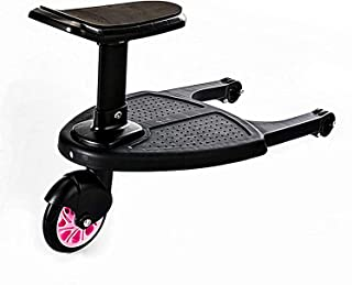 FCPLLTR Buggy Board Platform för barnvagn och barnvagn, PRAM Tillbehör för barn från 2-6 år (25 kg), kompatibel med nästan...