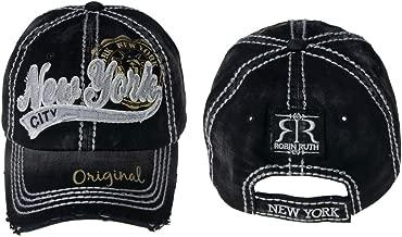 Robin Ruth New York Vintage Faded Hat (Black/Grey)