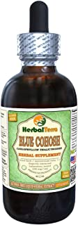 Blue Cohosh (Caulophyllum Thalictroides) Glycerite, Dried Root Alcohol-Free Liquid Extract (Brand Name: HerbalTerra, Proud...