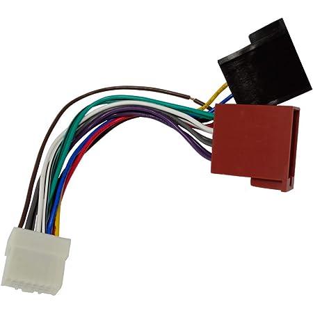 Aerzetix H3 Iso Konverter Adapter Kabel Radio Adapter Radio Anschluss Iso Kabel Anschluss Kabel Für Panasonic Auto
