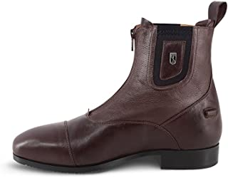 Tredstep Medici Front Zip Paddock Boot (Brown, US L10.5)