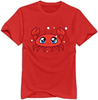 VAVD Man's Crab O-Neck T-shirt