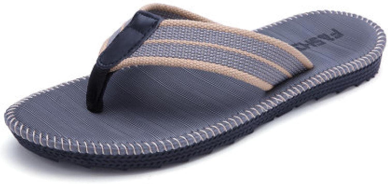 NC Mens Flip Flops Thong Sandals Yoga Foam Slippers 39 R005 Grey