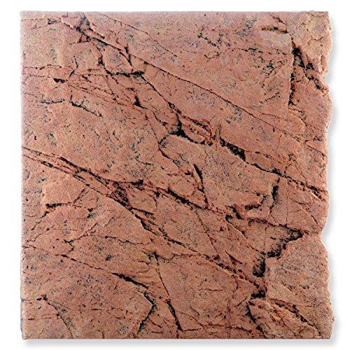 Back to Nature Red Gneiss 60 Slimline Rückwand H: 55 cm Größe Modul 60B (B50xH55cm)