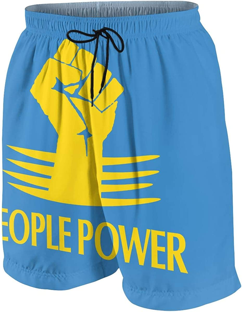 CCdesign People Power Teens Skateboard Graphic Short A surprise price is realized Print store Beach