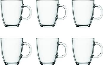Bodum Australia Pty Coffee Mug Bistro, Transparent, 11239-10-2