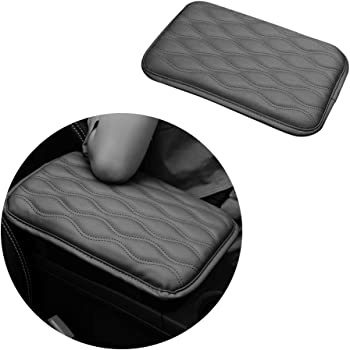 WeTest Premium Car Center Console Cover Armrest Pads for Most Vehicle,Car Waterproof Center Console Protector Cover Black