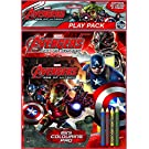 Anker Avengers Age of Ultron Play Pack, Plastic, Multi-Colour