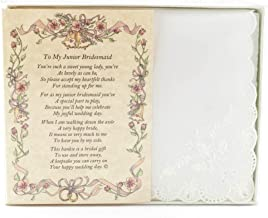 bridesmaid handkerchief poem