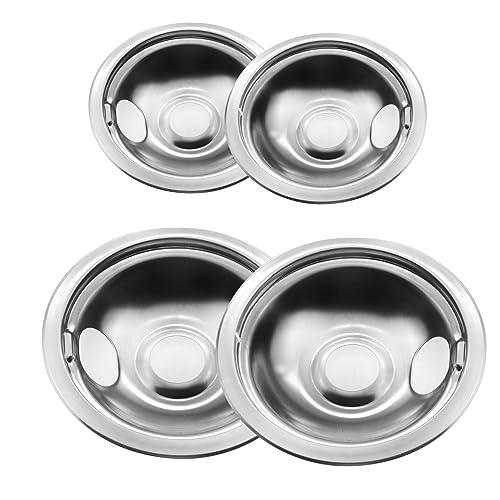 Round Stove Burner Drip Pans
