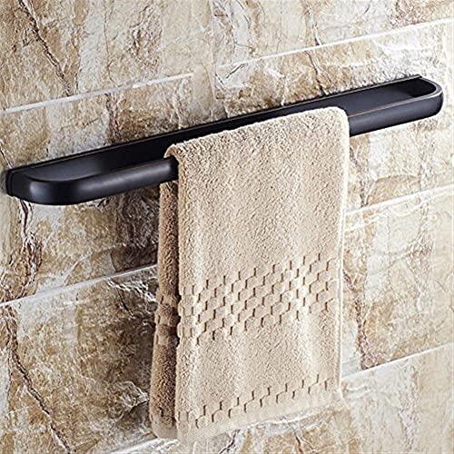 llsdls Barra de Toalla All Copper Baño Black Hair Towelbar, Towelhanger, Bathtowelrack, Wallmount