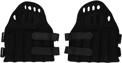 Keenso Gewichtshandschoenen, 2 Stuks Unisex Sport Gewogen Handschoenen Ergonomische Handzandzak voor Bokstraining Fitness