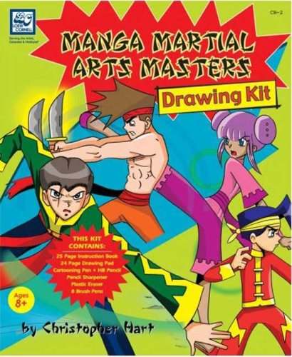 Manga Martial Arts Masters: Drawing Kit