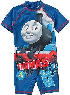 Bébé Garçons THOMAS THE TANK ENGINE à capuche train robe de chambre bleu 12 18 24 mois