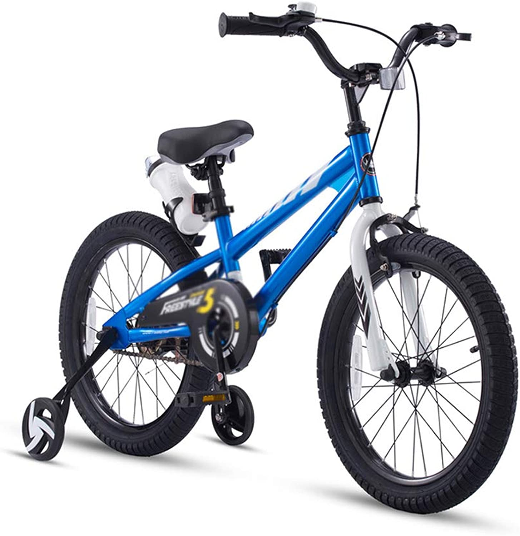 Sport & Freizeit Das Junge Fahrrad der Kinder verbreiterte den abnehmbaren Stabilisator 12 14 16 des Mdchenfahrrad-Spaziergngers (Farbe   Blau, Größe   16inch)