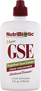 GSE Liquid Concentrate Grapefruit Seed Extract 10 Drops 200 Serving 2 fl oz 59 ml