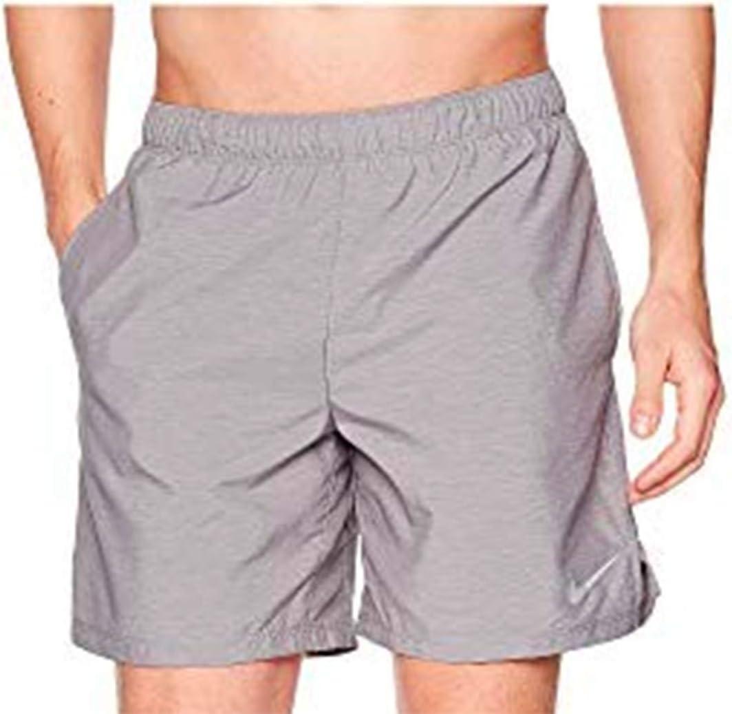 Amazon.com: Nike Mens DRI-FIT Flex 7'' Shorts (Gray, 2XL ...