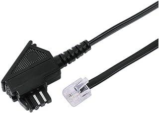 Hama TAE N Stecker   Modular Stecker 6p4c, 3 m