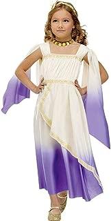Purple Greek Goddess Kids Costume