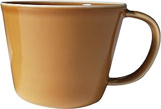 seiei【プレーリー 軽量 マグカップ】食洗機OK 径9㎝ 軽量 マグ ボトル カップ (マスタード)
