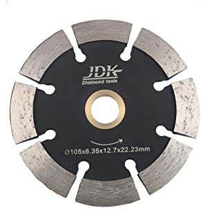 """JDK 4 Inch Diamond Crack Chaser Blade with 7/8""""-5/8"""" Arbor"""