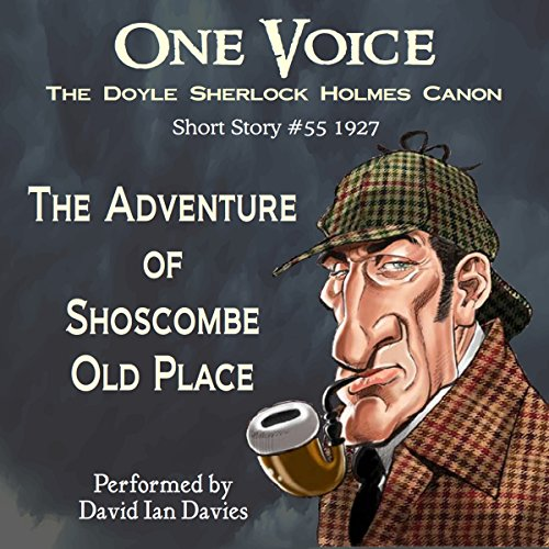 The Adventure of Shoscombe Old Place audiobook cover art