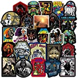 100 Pcs Aesthetic Vinyl Stickers for Star War, Stickers for Water Bottle Laptop Skateboard Luggage Flask Computer Car Phone Cool Trendy Cute Waterproof Stickers for Teens Boys Kids Girls