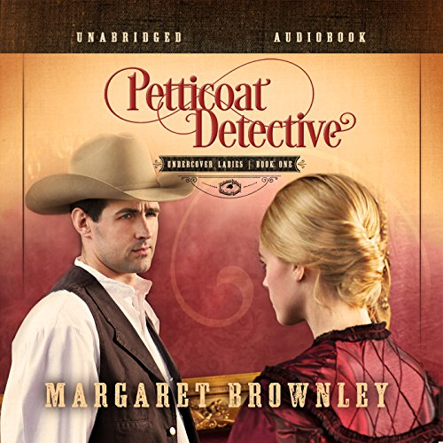 Petticoat Detective audiobook cover art