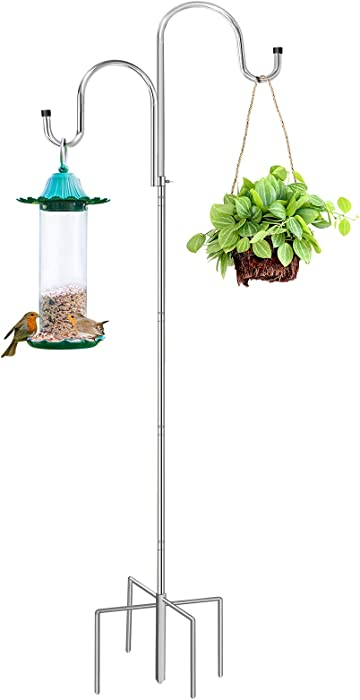The Best 2 Prong Garden Stake For Bird Feeders