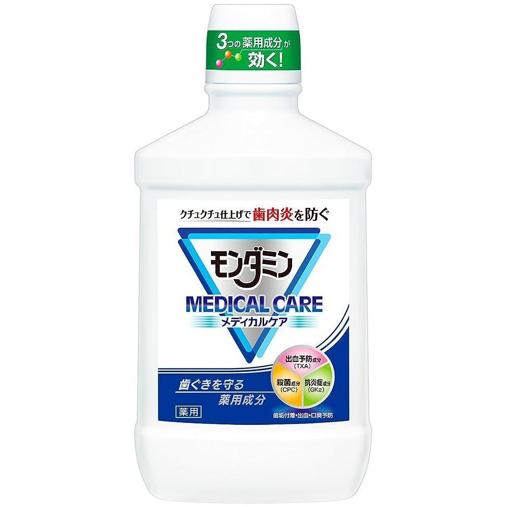 保守的遺棄された不快【アース製薬】モンダミン メディカルケア 1000ml ×3個セット