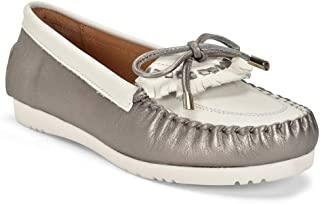 Five Tribe Women's Memorable Leather Moccasin Loafer